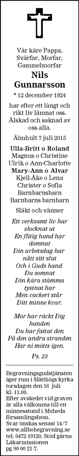 Nils Gunnarsson