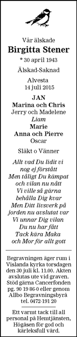 Birgitta Stener