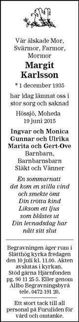 Margit Karlsson