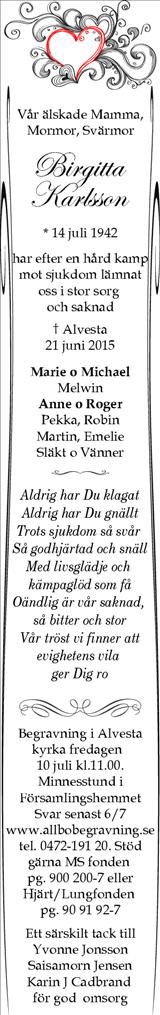 Birgitta Karlsson
