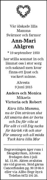 Ann-Mari Ahlgren