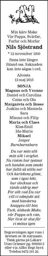 Nils Sjöstrand