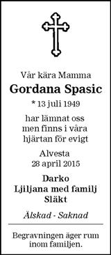 Gordana Spasic