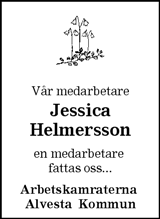 Jessica Helmersson