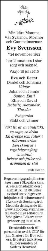 Evy Svensson