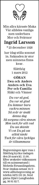 Ingrid Larsson