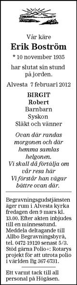 Erik Boström