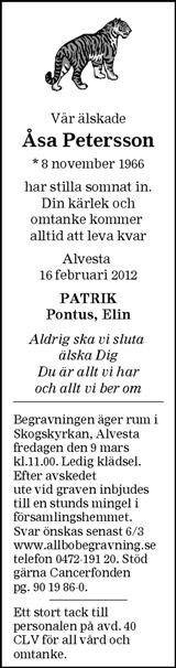 Åsa Petersson