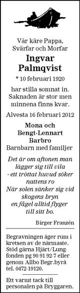Ingvar Palmqvist