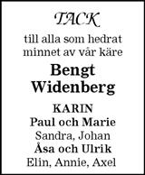 Bengt Widenberg