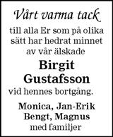 Birgit Gustafsson