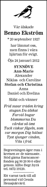 Benno Ekström