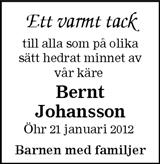 Bernt Johansson