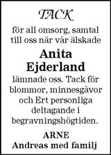 Anita Ejderland