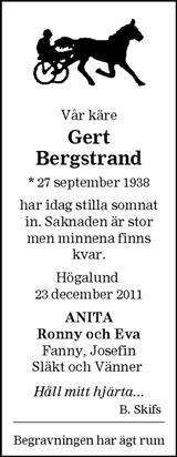 Gert Bergstrand