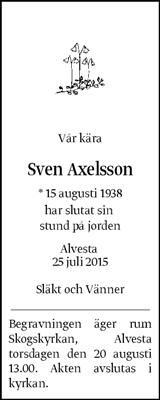 Sven Axelsson