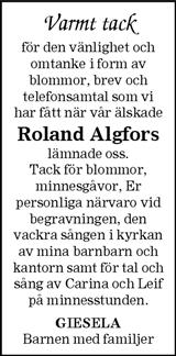 Roland Algfors