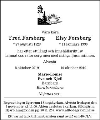Fred Forsberg