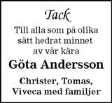 Göta Andersson