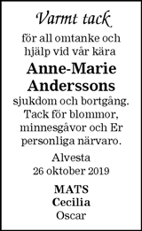 Anne-Marie Andersson