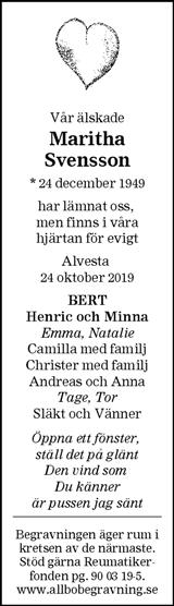 Maritha Svensson