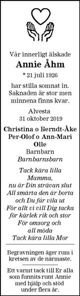 Annie Åhm