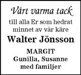 Walter Jönsson