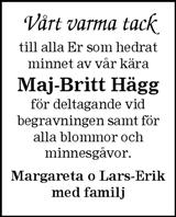 Maj-Britt Hägg