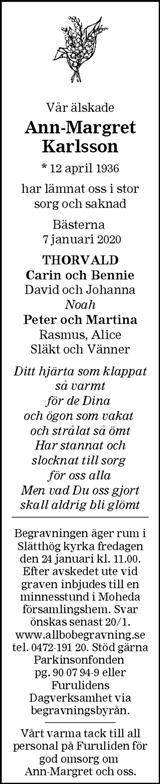 Ann-Margret Karlsson