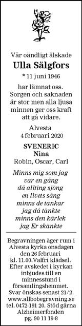 Ulla Sälgfors