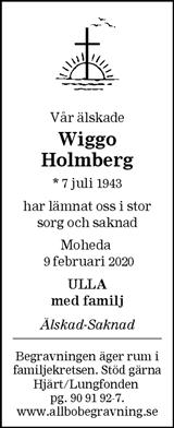 Wiggo Holmberg