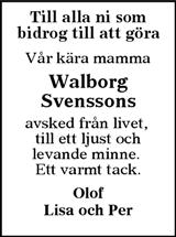 Walborg Svensson