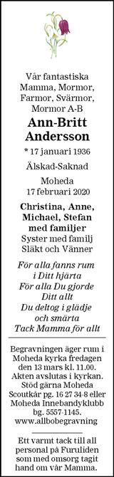 Ann-Britt Andersson