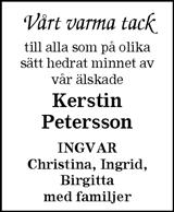 Kerstin Petersson