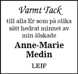 Anne-Marie Medin