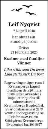 Leif Nyqvist