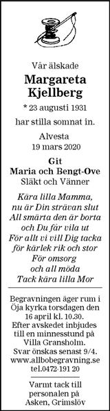 Margareta Kjellberg