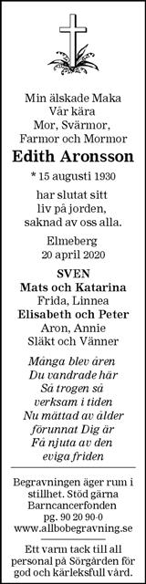 Edith Aronsson