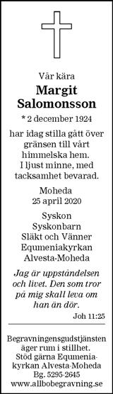 Margit Salomonsson