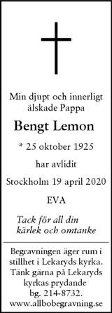Bengt Lemon