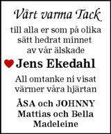 Jens Ekedahl