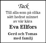 Eva Ellfors