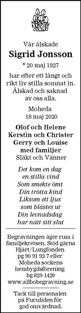 Sigrid Jonsson