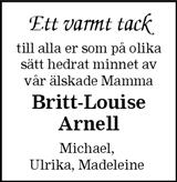 Britt-Louise Arnell