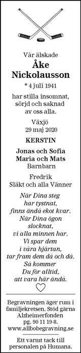 Åke Nickolausson
