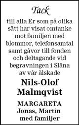 Nils-Olof Malmqvist