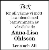 Anna-Lisa Ohlsson