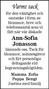 Ann-Sofia Jonasson