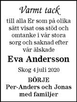 Eva Andersson