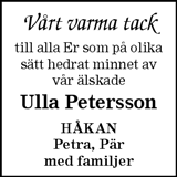 Ulla Petersson